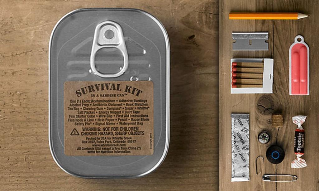 Lata de supervivencia ¿Cómo hacer una?
