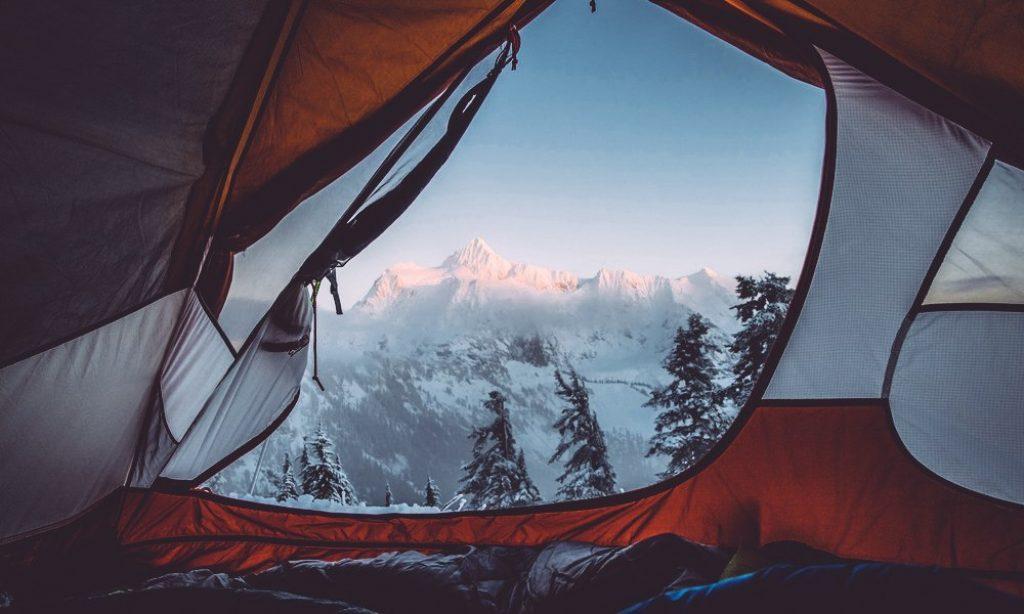 10 Consejos para acampar en la nieve