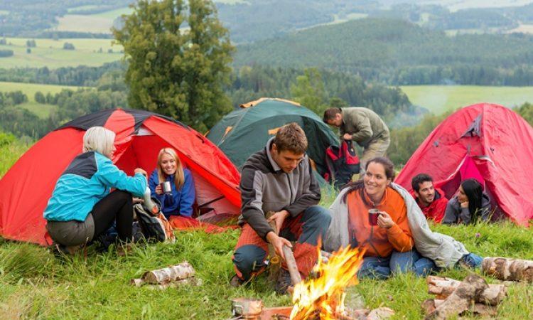 Los beneficios de acampar