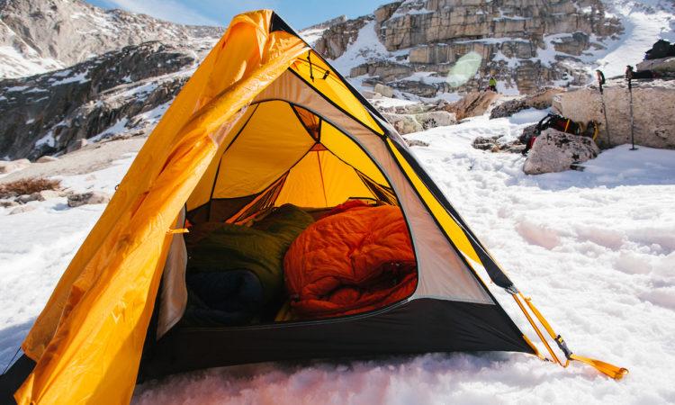 Acampar en zonas montañosas