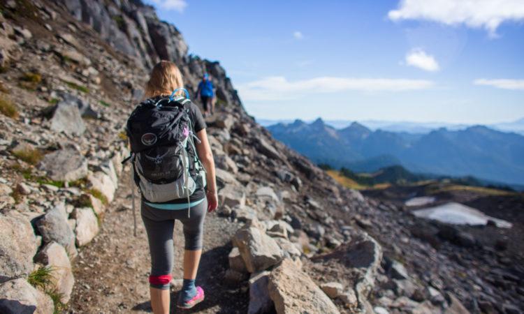 ¿Como caminar en la montaña?