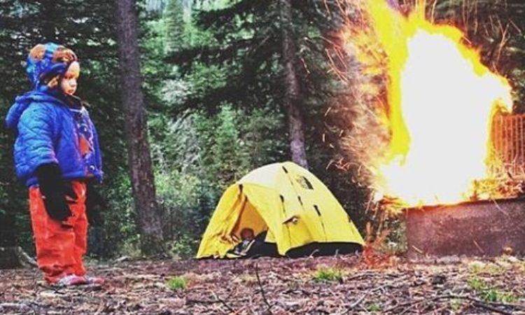 Consejos para acampar con niños