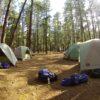 Acampar en rancho los Laureles, CDMX
