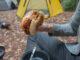 Hamburguesas con queso y vegetales, Receta Outdoor