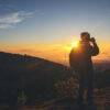 La regla de los tercios en fotografías outdoor